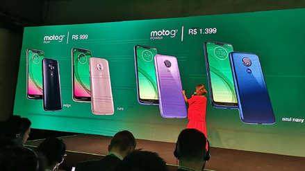 Estos son los modelos de la línea Motorola G7