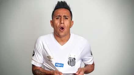 Christian Cueva fue anunciado oficialmente como nuevo jugado del Santos