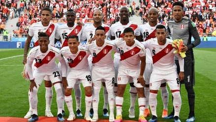 Perú se mantiene en el puesto 20 del ranking mundial FIFA
