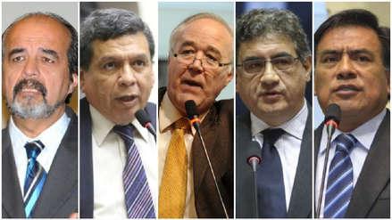 Reacciones en el Congreso por investigación al fiscal Pérez y al juez Concepción Carhuancho
