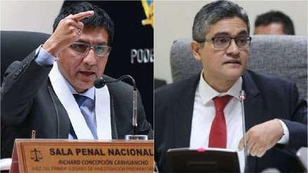 Richard Concepción Carhuancho y José Domingo Pérez son investigados por presunto abuso de autoridad