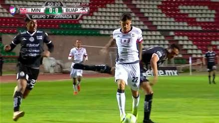 Beto da Silva falló un penal en Lobos BUAP por la Copa MX