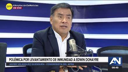 Javier Velásquez Quesquén asegura que Apra y Fuerza Popular ya no son aliados estratégicos