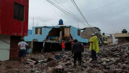Arequipa: Huaico y lluvias dejan tres muertos y viviendas destruidas en Aplao