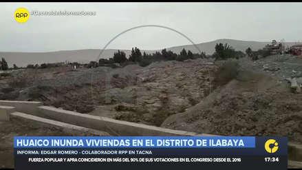 Más de 100 familias afectadas por huaico en provincia de Jorge Basadre en Tacna