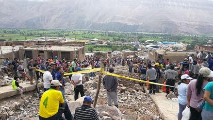 130 damnificados y 28 casas inhabitables en Aplao, un distrito desacostumbrado a lluvias y huaicos