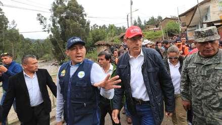 Gobierno declarará en emergencia la provincia de Pomabamba debido a huaicos