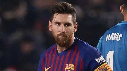 ¿Lionel Messi está disminuido físicamente? Esto opina un histórico del Barcelona