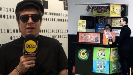 Así reaccionó Salim Vera al ver la foto viral en la que juega a la lotería [VIDEO]