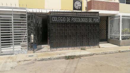 Asaltan colegio de Psicólogos de Chiclayo y se llevan más de 25 mil soles