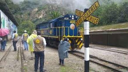 Extranjeros se salvaron de morir luego de ser atropellados por tren en Machu Picchu