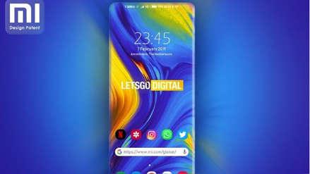 Xiaomi patenta un smartphone con pantalla contorneada en sus cuatro lados