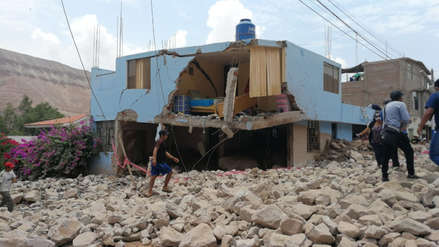 Casas destruidas y vehículos sepultados: Así quedó Aplao tras caída de huaicos