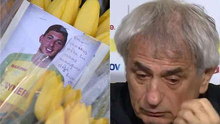 Emiliano Sala: técnico del Nantes rompió en llanto tras confirmarse muerte del jugador
