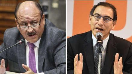Dávila a favor de iniciativa del presidente Vizcarra sobre aumento de sueldo a alcaldes
