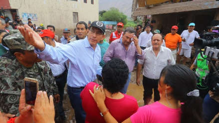 Vizcarra dijo que pueblo en Tacna arrasado por huaico deberá reubicarse: