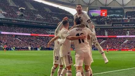 Real Madrid derrotó al Atlético de Madrid y sigue acercándose al Barcelona en LaLiga