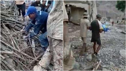 Tacna | Encuentran sin vida a menor de cuatro años desaparecido en huaico en Mirave