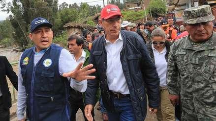 Martín Vizcarra sobre huaicos en Arequipa: