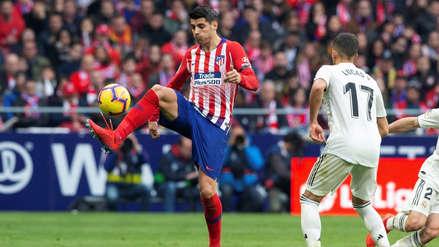 Atlético de Madrid:  Álvaro Morata anotó gol ante Real Madrid, pero el VAR  se lo anuló