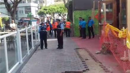 Un trabajador murió tras caer de azotea de edificio en Miraflores