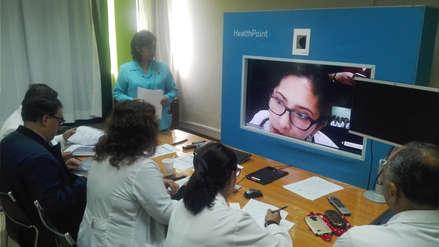 Telesalud, el sistema que permite atender a distancia casos de niños de todo el país