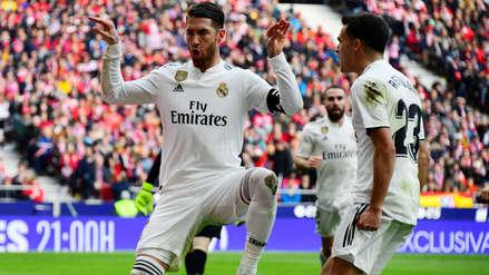 Celebración de Sergio Ramos ante el Atlético de Madrid causa polémica por este motivo