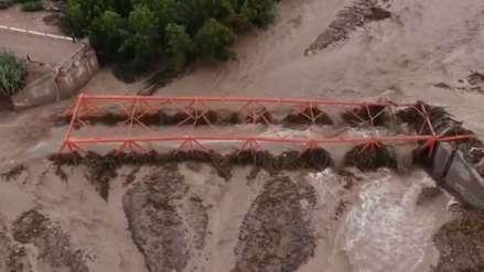 Video | Así se ve desde el aire el colapso del puente Montalvo en Moquegua