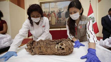 Perú recuperó momia de niño de hace 2,000 años que fue llevada a EE.UU. décadas atrás [FOTOS]