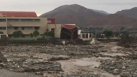 Así quedó la sede del Poder Judicial tras el desborde del río Moquegua