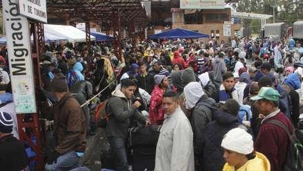 Más de 300 personas han sido detenidas este año en la frontera de Perú por ingreso irregular