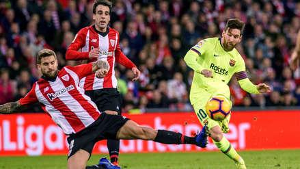 Barcelona empató ante Athletic Bilbao y sigue líder en la Liga de ... 8f3070696bb72