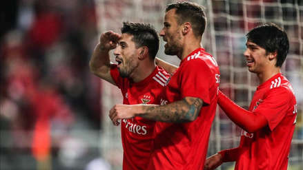 Benfica hizo historia al golear 10-0 al Nacional en la Liga de Portugal
