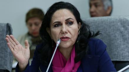 Gloria Montenegro solicitó pleno extraordinario para tratar caso de Moisés Mamani