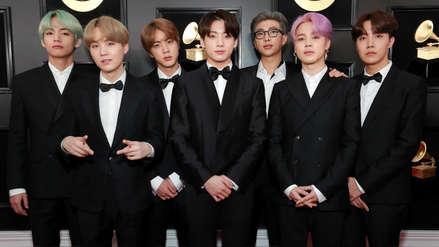 Grammy 2019: BTS y su paso por la alfombra roja: