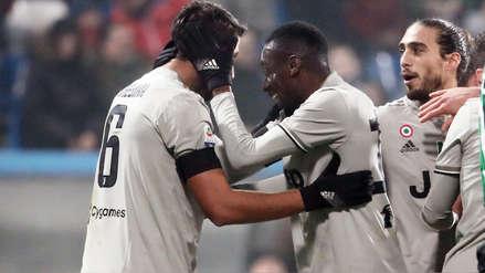 Juventus sigue sin perder en la Serie A y goleó 3-0 a Sassuolo de visita