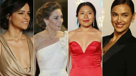 De Kate Middleton a Yalitza Aparicio: Las estrellas que destacaron en la alfombra roja del Bafta 2019
