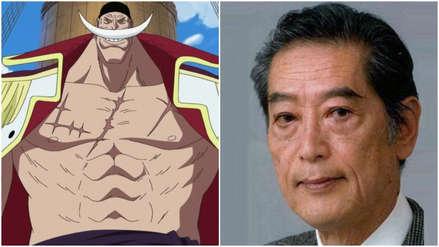 One Piece: Falleció Kinryu Arimoto, la voz de Barbablanca, a los 78 años