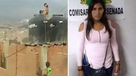 Mujer fue detenida por encerrar a sus hijas en un tanque de agua en Puente Piedra