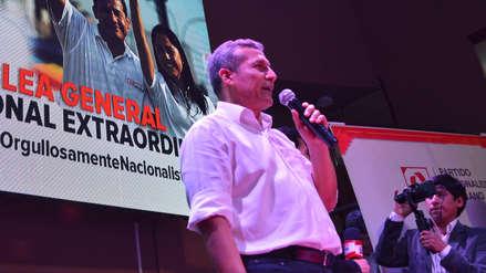 Ollanta Humala: El partido Nacionalista se presentará a elecciones de 2021