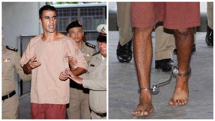 El drama de un futbolista perseguido por su país: Llegó a Tailandia para su luna de miel y fue detenido