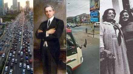 De Javier Prado a Angélica Gamarra: la historia de los personajes que dan nombre a cinco avenidas de Lima