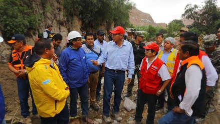 Martín Vizcarra indicó que buques de la Marina llevarán ayuda a las zonas afectadas por lluvias
