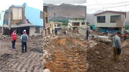 Arequipa | Al menos 70 viviendas fueron dañadas en Aplao por los huaicos
