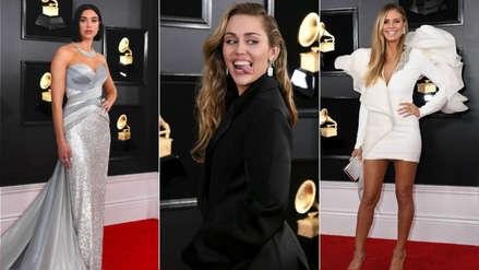 De Miley Cyrus a Camila Cabello: Las mejor vestidas de la alfombra roja del Grammy 2019 [FOTOS]