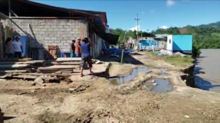Deslizamientos de tierra en Satipo dejan decenas de familias afectadas y viviendas destruidas