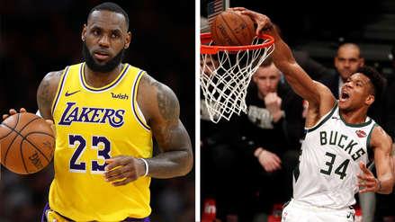 NBA All-Star Game 2019: fecha, hora y canal del partido entre Team LeBron y Team Giannis