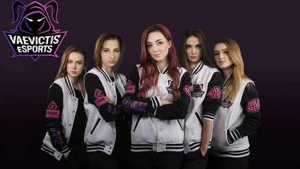 Vaevictis se convierte en el primer equipo femenino en una competencia profesional de League of Legends