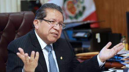 Comisión Permanente declara procedente denuncia contra fiscal Pablo Sánchez por fuga de Hinostroza