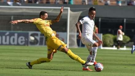 Sanción impide que Christian Cueva debute en la Copa Sudamericana con Santos